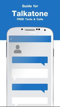 Free Talkatone Calling Tips apk screenshot