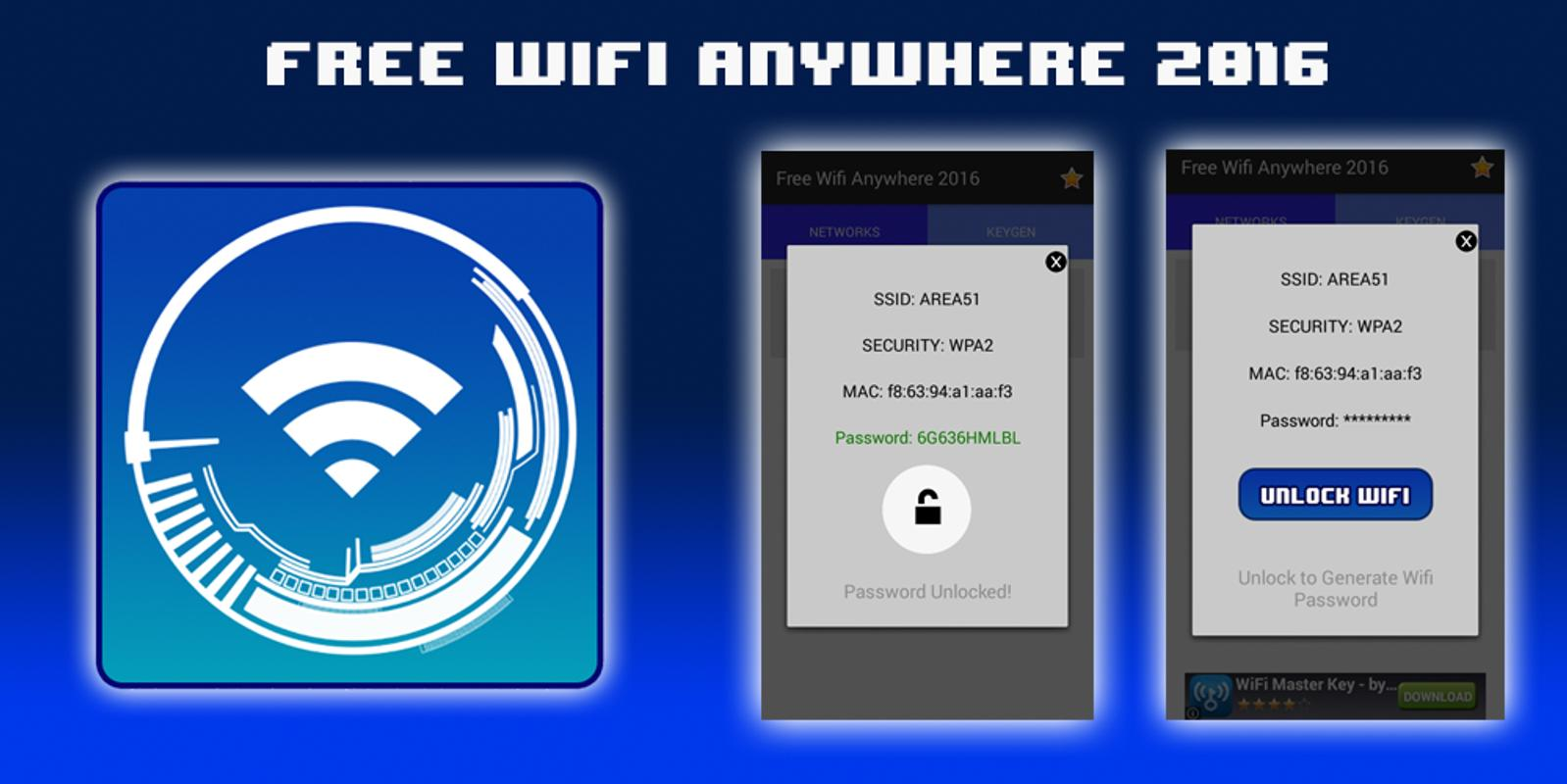 Free Wifi Anywhere 2016 APK Download - Free Tools APP for ...