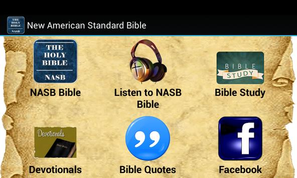 New American Standard Bible poster
