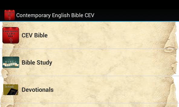 Contemporary English Bible poster