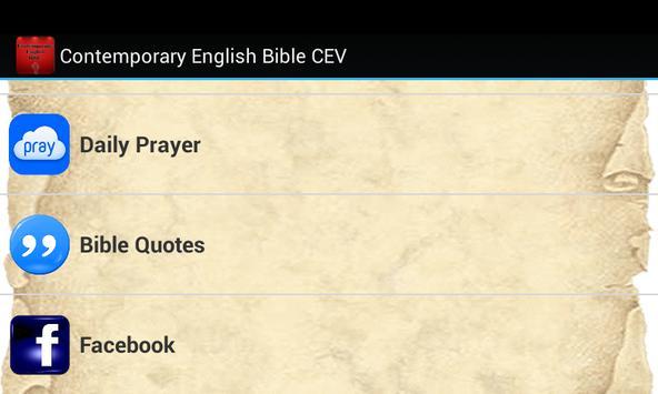 Contemporary English Bible apk screenshot