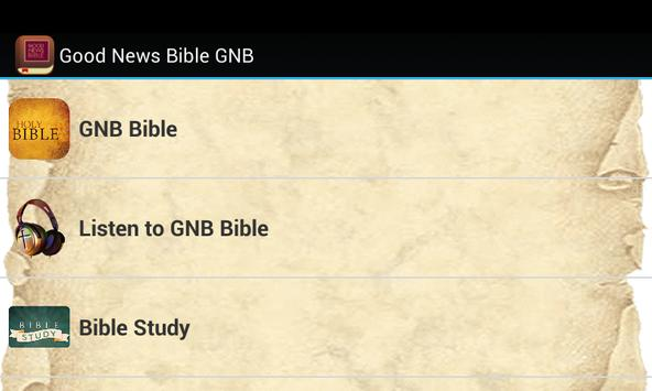 Good News Bible GNB poster