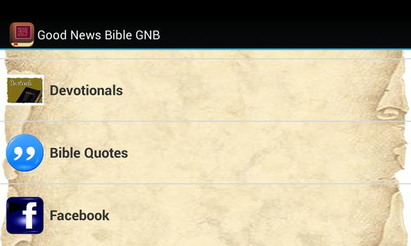 Good News Bible GNB apk screenshot