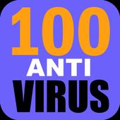 100 Anti Virus icon