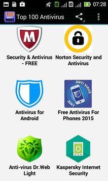 100 Anti Virus apk screenshot