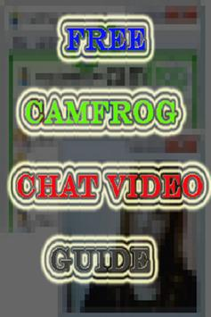 Free CamFrog Chat Video ProTip poster