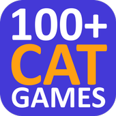 100 Cat Games icon