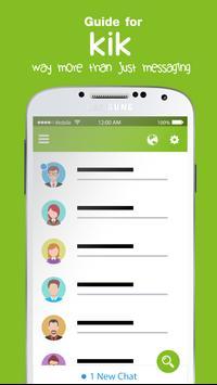 Free KiK Chat Messenger Tips poster