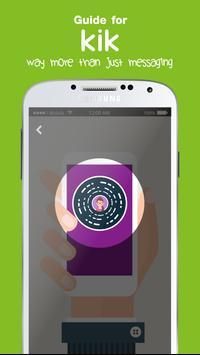 Free KiK Chat Messenger Tips apk screenshot