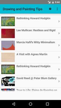 Drawing and Painting Tips apk screenshot