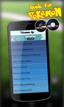 Guide For Pokemen Go apk screenshot