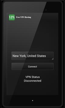 Free VPN Hosting apk screenshot