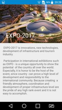 EXPO 2017 reminder apk screenshot