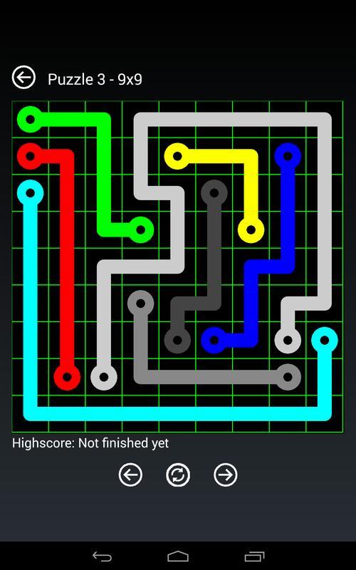 Online Flow Game