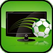 Football on TV icon