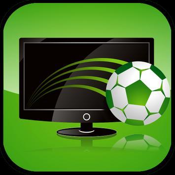 Football on TV poster