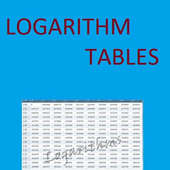 Logarithm Tables - Maths icon
