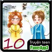 kho truyện teen 10 offline icon