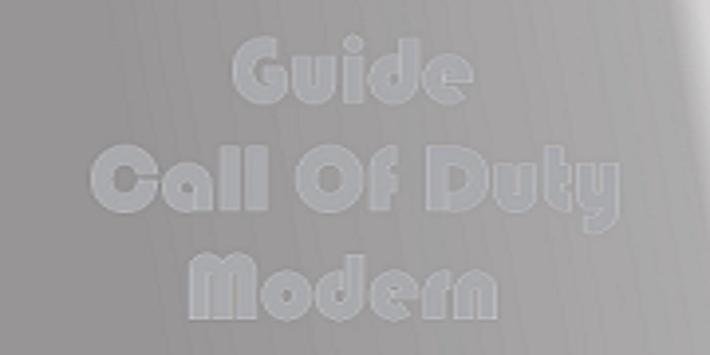 Guide Of Call Of Duty Modern poster