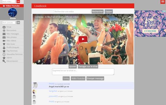 Lovebook - Rencontre gratuit apk screenshot