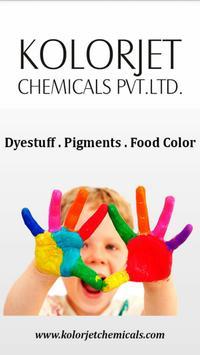 Dyes Kolorjet Chemicals poster