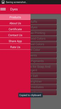 Dyes Kolorjet Chemicals apk screenshot