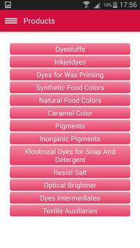Reactive Dyes Kolorjet Apps apk screenshot