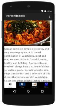 Korean Recipes poster