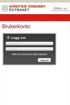 Kaefer Extranet apk screenshot