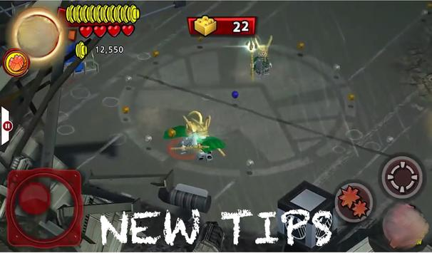 New LEGO Marvel SuperHero Tips apk screenshot