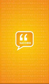 Success Quotes poster