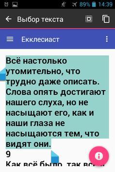Библия. Екклесиаст apk screenshot