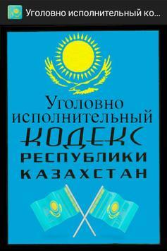 Уголовно исполнительный кодекс poster