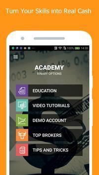 Binary Options Academy poster