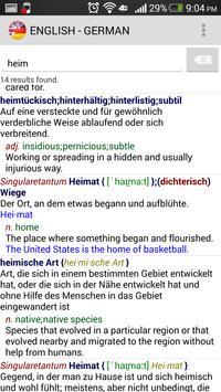 OFFLINE ENGLISH - GERMAN apk screenshot