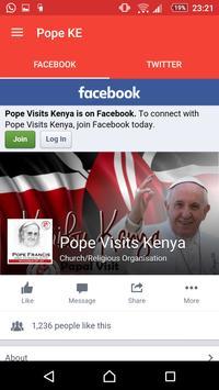 Pope Visit Ke apk screenshot