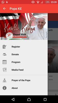 Pope Visit Ke poster