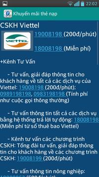 Khuyen Mai Nap The apk screenshot