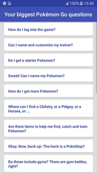 Guide for Pokemon Go apk screenshot