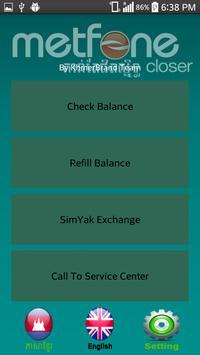 MetfoneServices apk screenshot