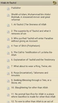 Kitab At-Tauhid apk screenshot