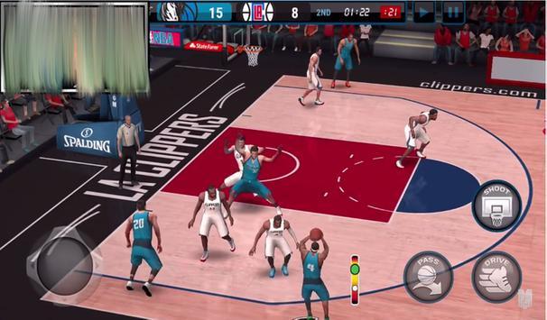 Tips NBA Live Basketball apk screenshot