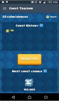 Tips Clash Royale Chest Track apk screenshot
