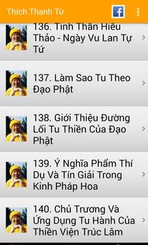 Thích Thanh Từ Sách Phật Giáo apk screenshot