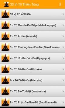 33 Vị Tổ Thiền Tông -Phật Giáo poster