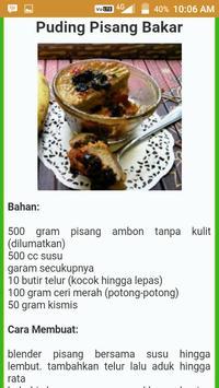 Resep Kue Pisang Lengkap apk screenshot