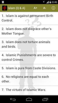 Islam Q & A apk screenshot