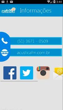 Rádio Acústica FM apk screenshot