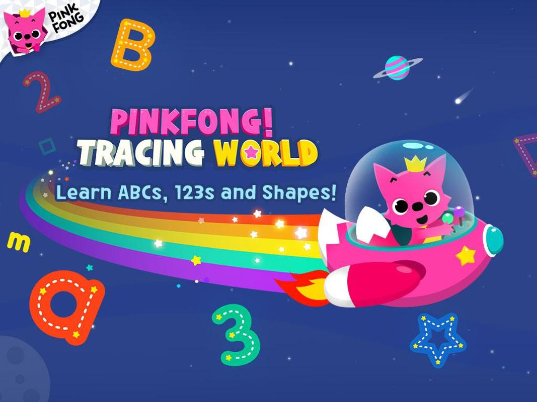 PINKFONG Tracing World APK Download - Free Education APP
