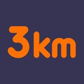 3키로 - 랜덤채팅,남친,여친,채팅친구 icon